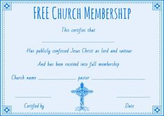Free honorary life membership certificate template free membership free church membership certificate template thecheapjerseys Choice Image