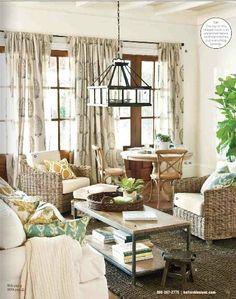 ballard design living room