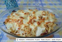 Hagymás-túrós galuska Veggie Recipes, My Recipes, Dinner Recipes, Cooking Recipes, Favorite Recipes, Main Dishes, Side Dishes, Spagetti Recipe, Hungarian Recipes