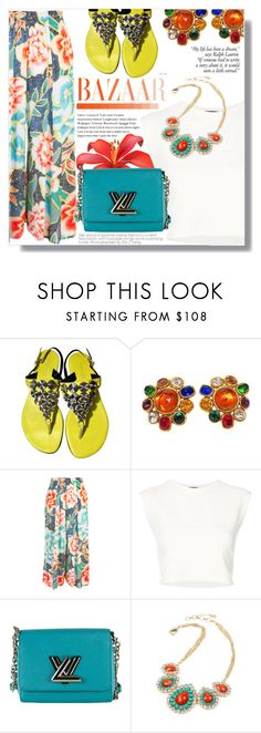 """Different is Beautiful"" by xwafflecakezx ❤ liked on Polyvore featuring Barbara Bui, Chanel, Mara Hoffman, Puma, Louis Vuitton and Amrita Singh"