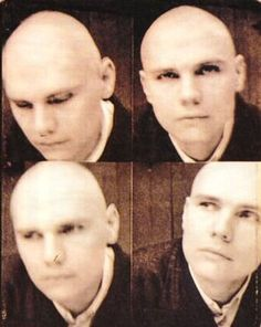 Billy Corgan by Frank Ockenfels Music Like, My Music, Billy Corgan, Robert Smith, Bald Men, Popular People, Owl City, Punk Art, Swans