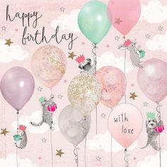 Birthday Quotes : Happy Birthday with love… Birthday Greetings For Facebook, Happy Birthday Wishes Cards, Happy Birthday Girls, Happy Birthday Images, Happy Birthday With Love, Birthday Blessings, Birthday Girl Meme, Birthday Girl Pictures, Best Birthday Quotes
