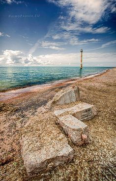 Kiipsaare lighthouse, Saaremaa island, Estonia