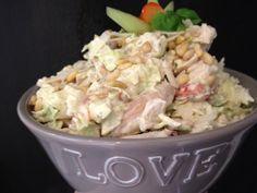 Mmm (Malenes maktmat) : NORGES BESTE PASTASALAT Potato Salad, Cabbage, Food Porn, Food And Drink, Favorite Recipes, Chicken, Baking, Dinner, Vegetables