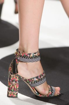 best shoes (footwear) from the New York Fashion Week spring 2015.