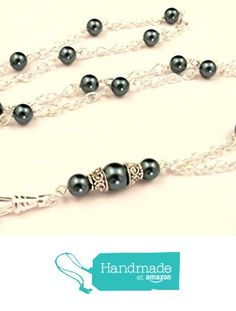 ID Badge Lanyard - Simply Beautiful Pearls from By Brenda Elaine Jewelry…
