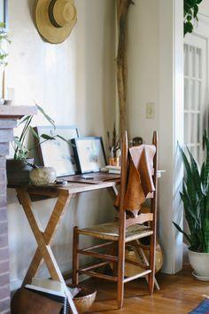 Lean + Meadow desk in home office