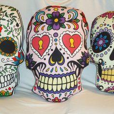 Almohadon con forma de Calavera Mexicana - Aldea Enamel, Accessories, Skulls, Mexican, Shapes, Argentina, Vitreous Enamel, Enamels, Tooth Enamel