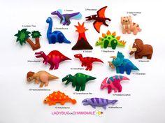 Felt magnet toys - LADYBUGonCHAMOMILE