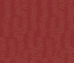 Textile inspiration with branches & leaves by Armani/Casa, available exclusively at NewWall.com.