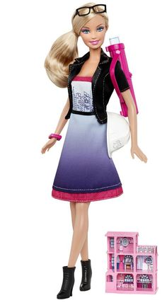 Architect Barbie... How is she wearing color?