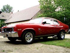 1973 Nova  | 1973 Chevy Nova 454 by HeartySpades
