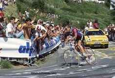 Andy Hampsten on Alpe D'Huez