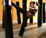 Going to my first kickboxing class tonight. Wish me luck!