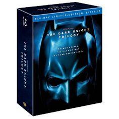 The Dark Knight Trilogy (Batman Begins / The Dark Knight / The Dark Knight Rises) [Blu-ray] (Warner Home Video)