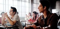 Find images and videos about gif, teen wolf and stiles stilinski on We Heart It - the app to get lost in what you love. Dylan O'brien, Tyler Posey, Teen Wolf Coach, Wattpad, Dylan O Brien Imagines, Scott And Stiles, Teen Wolf Funny, Tv Show Casting, Wolf Love