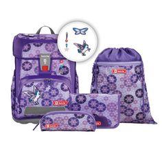 Schulrucksack-Set Step by Step Cloud 5 Teilig Sparkling Pegasus Pegasus, Textiles, Lunch Box, Sparkle, Clouds, Backpacks, Bags, Sport, Sachets