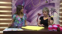 Mulher.com 24/12/2014 Vitória Quintal - Saia curta amarela tricô Parte 1