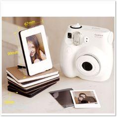 "Fuji Mini film ""Sandwich Photo Frame Ivory Color"" Polaroid instax mini film"