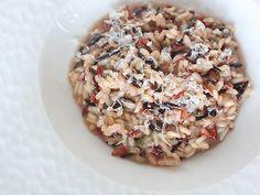 Wild rice risotto
