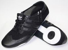 Adidas Torsion Womans Trainers Black Leather & Mesh Brand New Uk 6,5 Summer £29.77