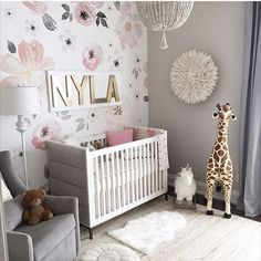 Best 1831 Best Baby Girl Nursery Ideas Images On Pinterest In 400 x 300