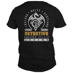 Detective Job Legend patrick's day shirt