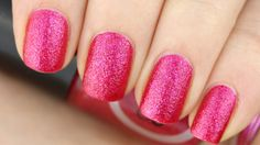 Swatch: Catrice - Shooting Star (Crushed Crystals) - Pinky Polish