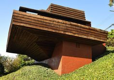 Sturges House. 1939. Brentwood, California. Usonian Style. Frank Lloyd Wright.