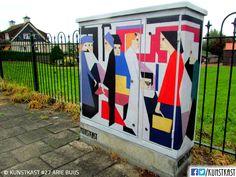kunstkast arie buijs Urban Street Art, Box Art, Holland, Painting, Dutch Netherlands, Painting Art, Netherlands, Paintings, The Netherlands