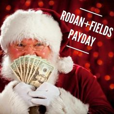 It's PAYDAY!!!! This month's check is buying my kids' Christmas presents!!!  AND GUESS WHAT.....JOIN my Rodan + Fields team in November and YOU'LL get YOUR first PAYDAY in December! Just in time for CHRISTMAS!!!! The sooner you start the larger the earning potential!! If the thought of Christmas stresses you out financially, we need to chat!! PM me for more details on how you can give yourself the best gift this year! #RFPayday