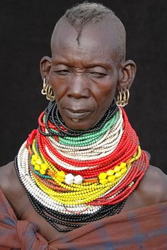 Africa | Turkana woman, Nothern Kenya | © Vincent Henau, via Flickr