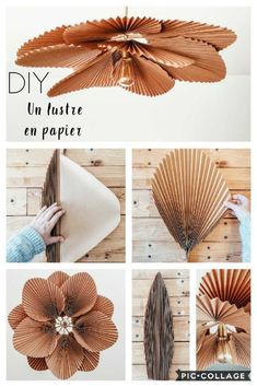 DIY déco DIY : Mon abat jour en papier – Flavie Peartree Beat the Weeds and Save Time in the Garden Diy Home Crafts, Diy Home Decor, Diy Crafts Room Decor, Diy Y Manualidades, Paper Lampshade, Lampshades, Creation Deco, Diy Chandelier, Diy Interior