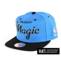 Orlando Magic Sonic Snapback by Mitchell & Ness   www.hatlocker.com