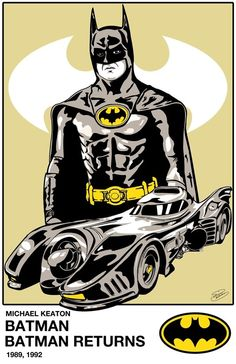 Batman - Michael Keaton the best batman I Am Batman, Batman Art, Batman Robin, Superman, Batgirl, Catwoman, Tim Burton, Comic Books Art, Comic Art