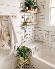 Bathroom Decor Ideas Match With Your Home Design Style . Modern Bathroom Decor Ideas Match With Your Home Design Style . dream shower 37 bathroom decorating ideas a look at some popular decors 31 Decor, Interior, Modern Small Bathrooms, Vintage Bathroom, Small Bathroom Decor, Home Decor, House Interior, Modern Vintage Bathroom, Bathroom Decor