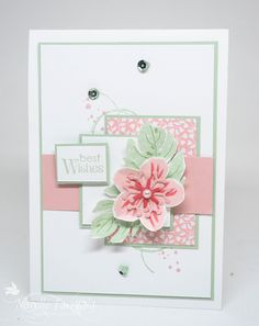 Hey Everyone I just love the colours in this weeks Just Add Ink inspiration picture. Kim found this wonderful photo - I can't wait to see what you create. The flower I've used on my card is from S...