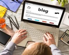 How can you successfully set up an efficient business blog on a very tight budget?