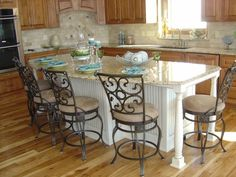 10 Incredible Kitchen Islands With Seating Kitchen
