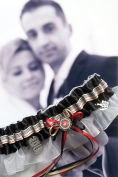 US Marine Wedding Garter   Oorah by LeonoraB on Etsy