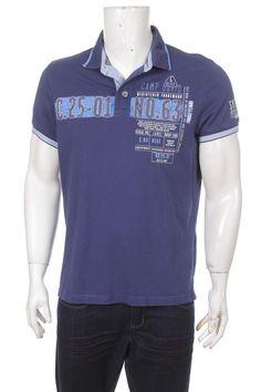 Camp David Herren Polo Shirt Blue Size L Polo Shirt Shirts Shirts Blue