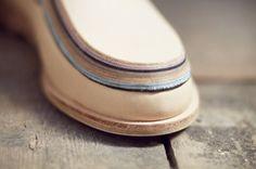 Barbora Veselá: Geology of Shoes - Thisispaper Magazine Slow Design, Shoe Crafts, Geology, Leather Craft, Designer Shoes, Catwalk, Bangles, Footwear, Fashion Design