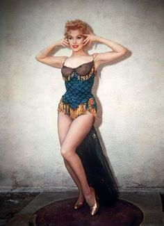 "I adore this costume Marilyn Monroe is wearing.         Marilyn Monroe in ""Bus Stop"" 1956"
