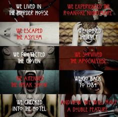 Coven, American Horror Story, Apocalypse, Survival, Quotes, Ahs, Quotations, American Horror Stories, Quote