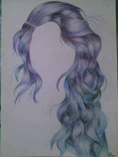 #hair#summertime#blue#violet :3