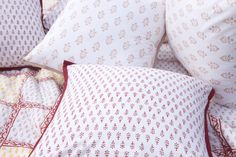 Country Living Decorating - Floral Bedding - Country Style Decor - Hand Block Printed from Attiser Country Bedding Sets, French Country Bedding, French Country Interiors, Kids Bedding Sets, Country Quilts, French Bedding, Country French, Comforter Sets, Country Style