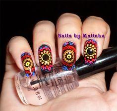 Nails by Malinka: Born Pretty Plate BP-L014