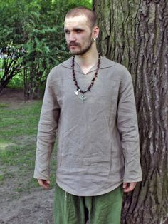Medieval linen tunic under armour; Viking Clothing, Under Armour, Medieval, Drawing, Trending Outfits, Random, Unique Jewelry, Image, Mens Tops