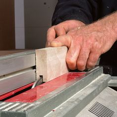 Making Raised-Panel Doors on a Tablesaw - Fine Homebuilding Building Kitchen Cabinets, Kitchen Base Cabinets, Diy Cabinets, Custom Cabinets, Kitchen Island, Shaker Style Cabinet Doors, Diy Cabinet Doors, Cabinet Styles, Home Building Tips