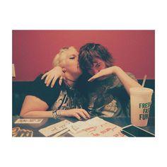 my love doves  {#bb #love #besties #babes #fuzzys #atx #austin #tx #texas #fuzzystacos #fam #date #punk #poppunk #tumblr} by _holleena_